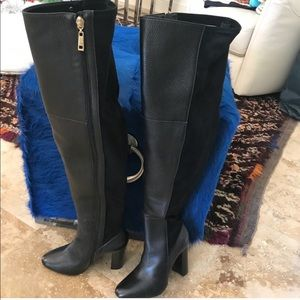 Sexy over the knee boots (real leather)